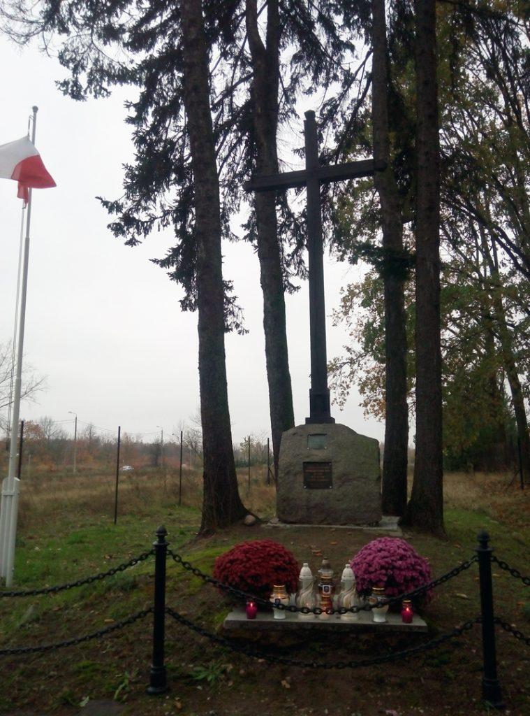 Mogiła powstańców, foto Piotr Prawucki, 30 X 2015