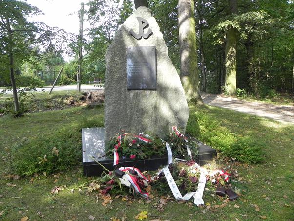 Pomnik, foto Piotr Prawucki,19 IX 2017 r.