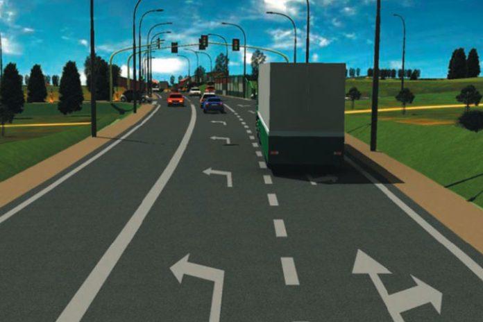 Projekty dróg