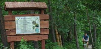 Ścieżkę edukacyjną w Zalesiu Dolnym utworzono w 2007 r.