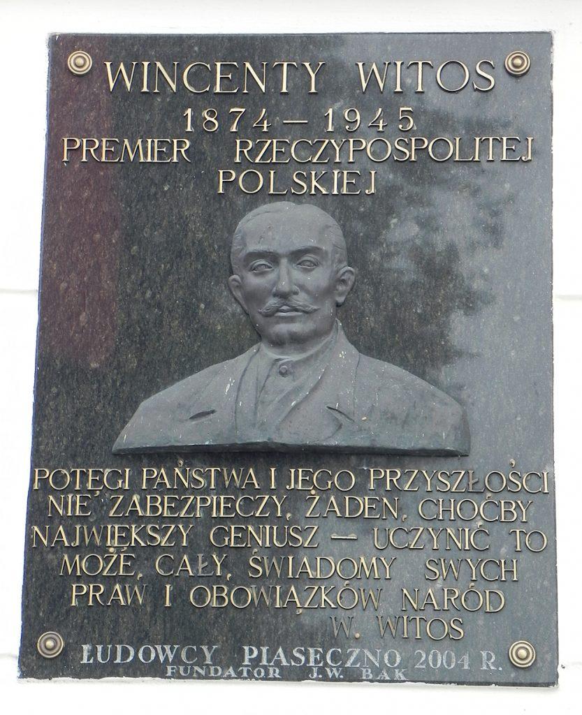 Tablica - widok ogólny, foto Piotr Prawucki, 22 IX 2017 r.