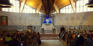 kościół w Zalesiu Dolnym foto: www.facebook.com/parafiazalesiedolne/