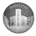 Rewers medalu - Zasłużony dla Gminy Piaseczno