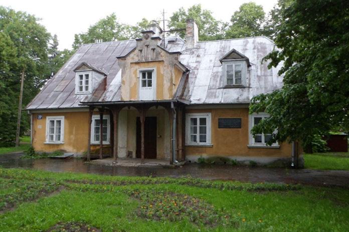 Dworek w parku chyliczkowskim