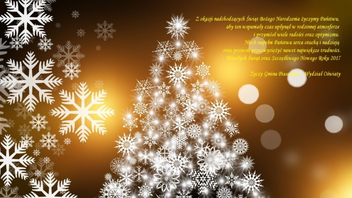 Wesołych Świąt i Szczęśliwego Nowego Roku