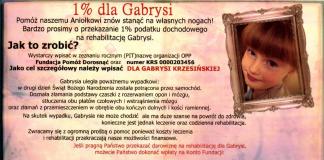 1% dla Gabrysi