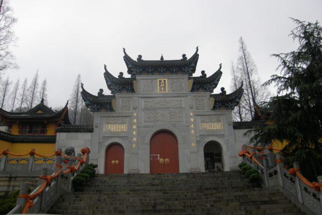 Klasztor buddyjski w Huangmei