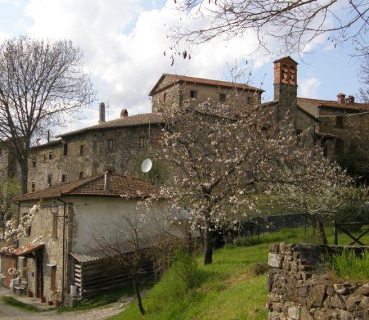 Sarna - średniowieczna wioska należąca do Gminy Chitignano