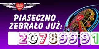 WOŚPowy rekord w Piasecznie