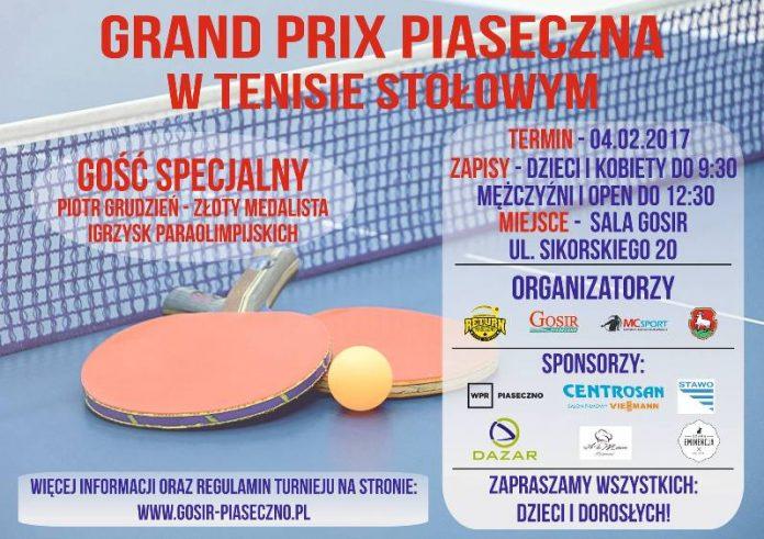 VI Grand Prix w tenisie stołowym