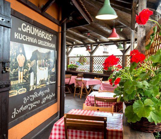 Restauracja Gaumarjos - kuchnia gruzińska