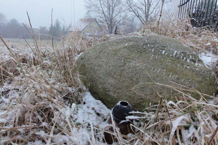 Kamień pamięci kpt. art. Fryderyka Hausch'a