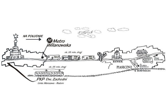 Jak dojechać do Gminy Piaseczno