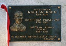 Tablica Wacława Kauna