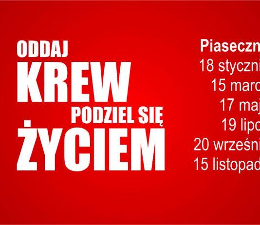 Zbiórki krwi w 2017 r.
