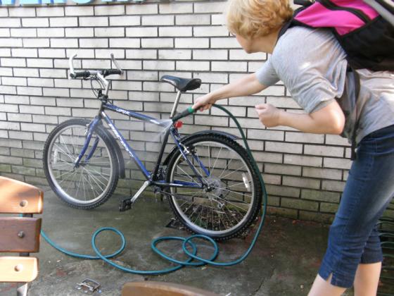 Przystań rowerowa