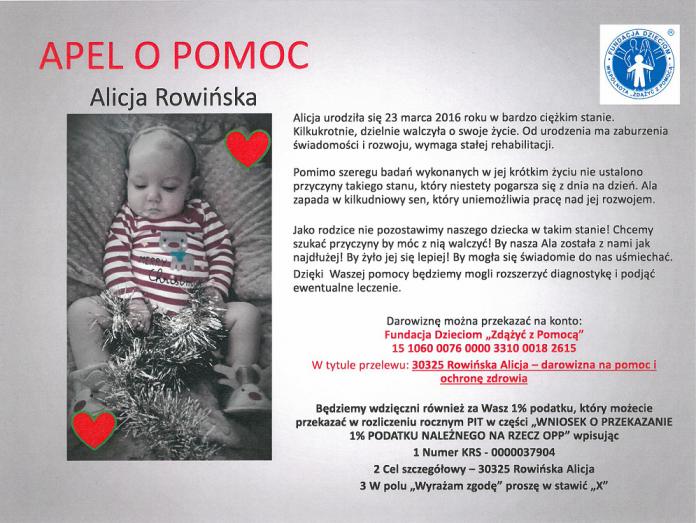 Pomoc dla Alicji