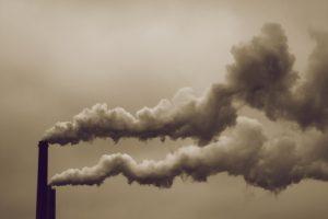 Ilustracja. Smog.
