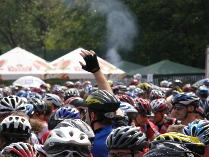 The MTB Mazovia bicycle marathon is enjoying an increasing popularity.