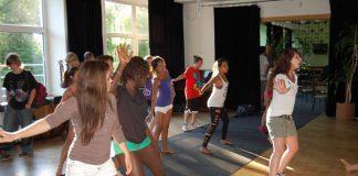 Wizyta w tanecznych rytmach