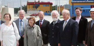 Wizyta władz z Upplands Vasby