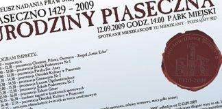 580-lecie nadania praw miejskich Piasecznu - urodziny w Parku Miejskim