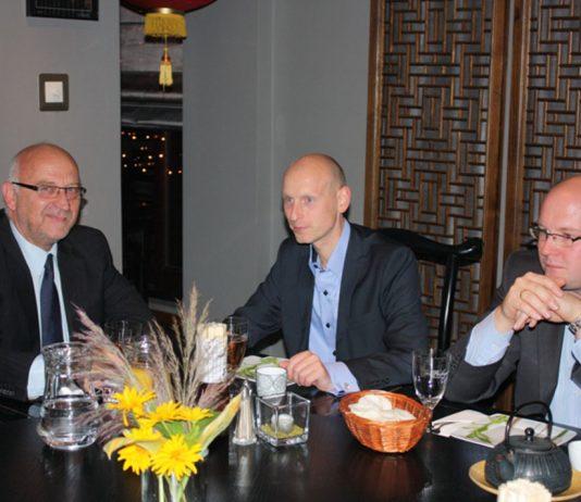 Odwiedziny nowego burmistrza Upplands Vasby