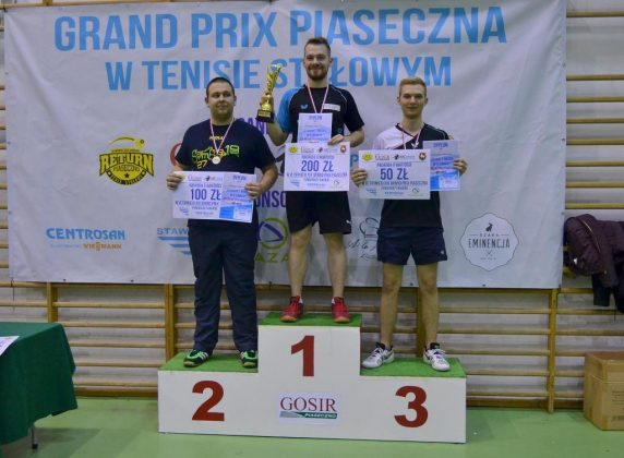 Grand Prix Piaseczna w Tenisie Stołowym 4 lutego 2017
