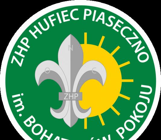plakietka Hufca ZHP Piaseczno