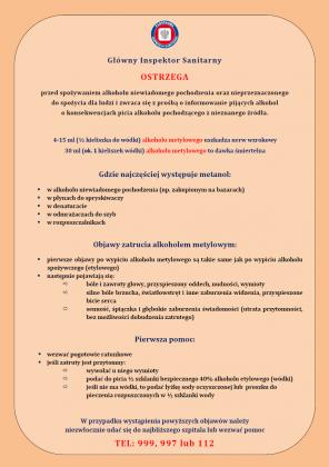 metanol - ulotka strona 2