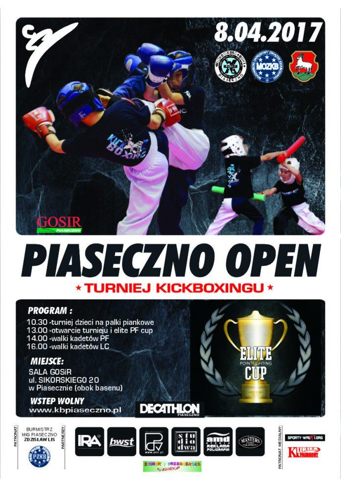 Piaseczno Open plakat