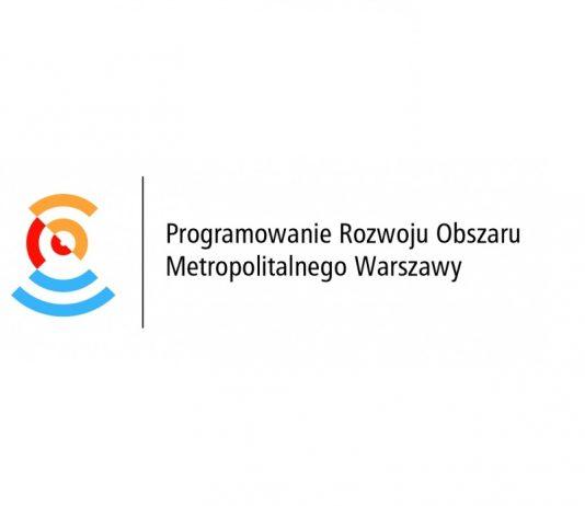 Program Rozwoju Obszaru Metropolitalnego Warszawy logotyp