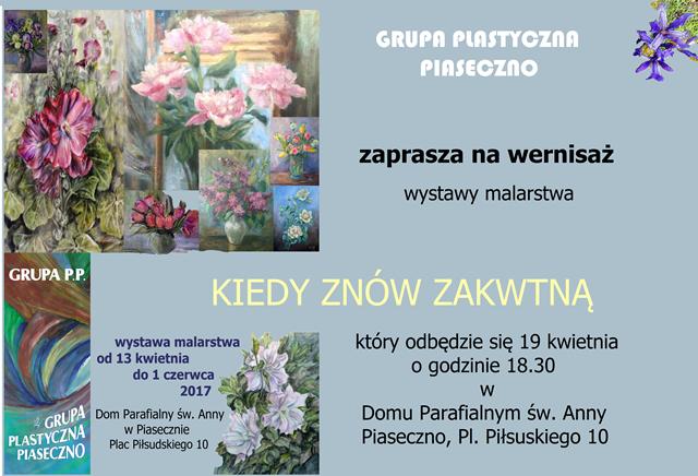 Wernisaż wystawy malarstwa Grupy Piaseczno