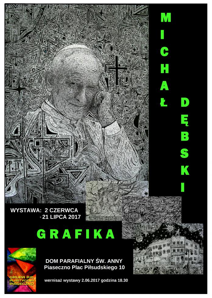 Plakat M. Dębski GRAFIKA