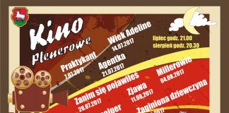 kino plenerowe 2017 plakat