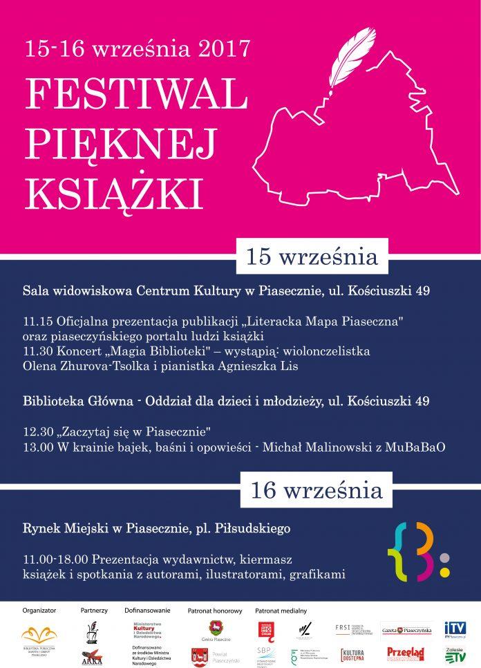 Festiwal Pięknej Książki plakat