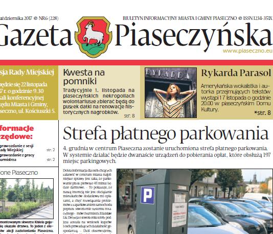 Gazeta Piaseczyńska nr 6/2017