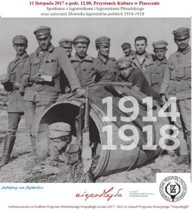 Spotkanie z legionistami Piłsudskiego