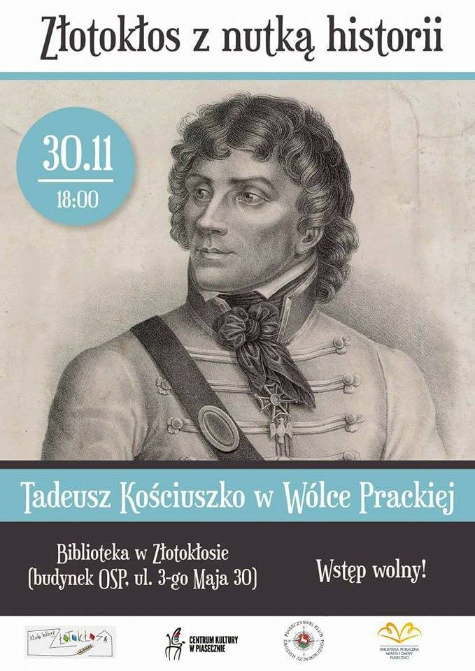 Tadeusz Kościuszko w Wólce Prackiej