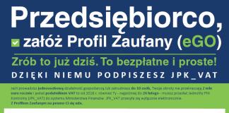 profil zaufany plakat