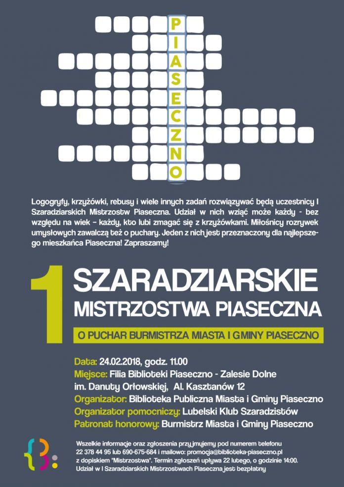 Szaradziarskie Mistrzostwa po raz pierwszy w Piasecznie