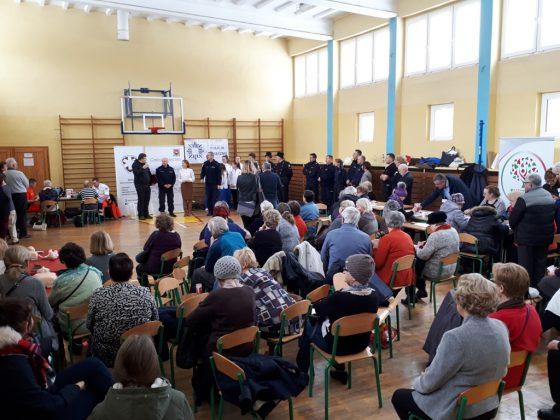 """Finał akcji """"Seniorze, strzeż się"""", fot. UMiG Piaseczno"""