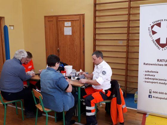 Finał akcji - badania medyczne, fot. UMiG Piaseczno