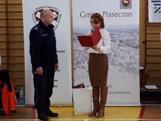 Finał akcji - podziękowanie Komendzie Powiatowej Policji w Piasecznie, fot. UMiG Piaseczno