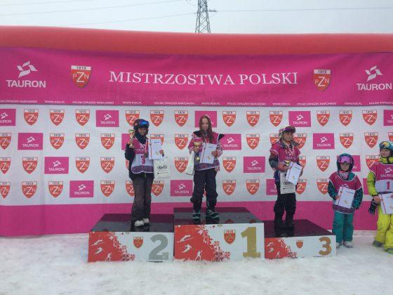Maja na podium
