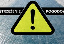 Ostrzeżenie - spadek temperatury powodujący oblodzenie nawierzchni dróg i chodników