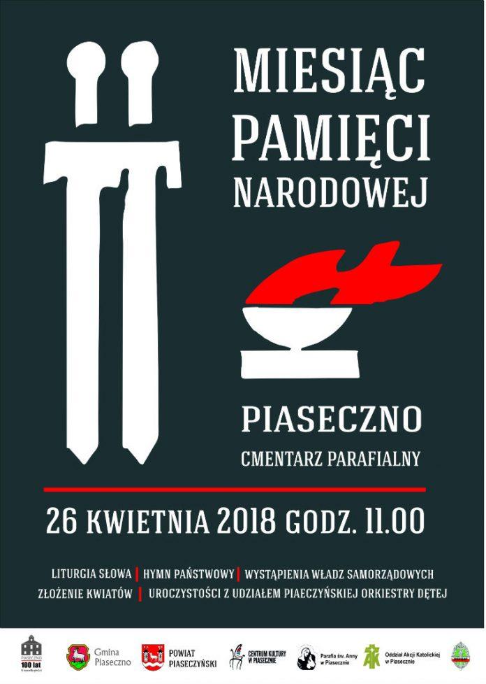 miesiąc pamięci narodowej plakat