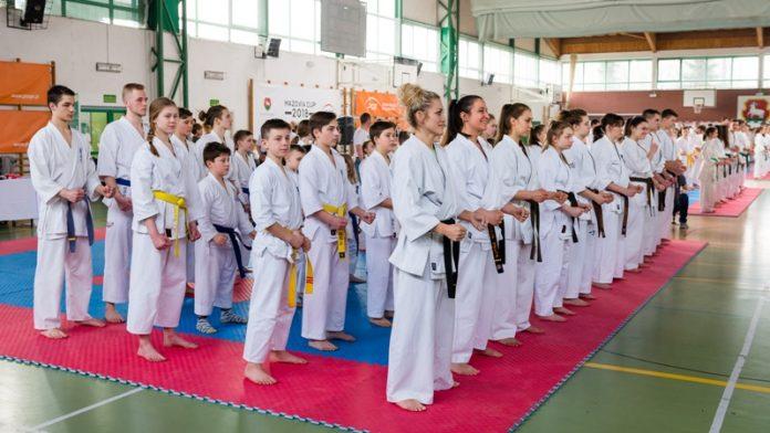 Turniej karate Mazovia Cup 2018, foto: archiwum organizatora