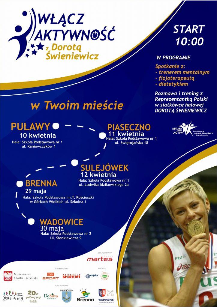 Włącz Aktywność z Dorotą Świeniewicz w Piasecznie