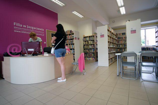 Wyremontowana filia biblioteki w Jazgarzewie